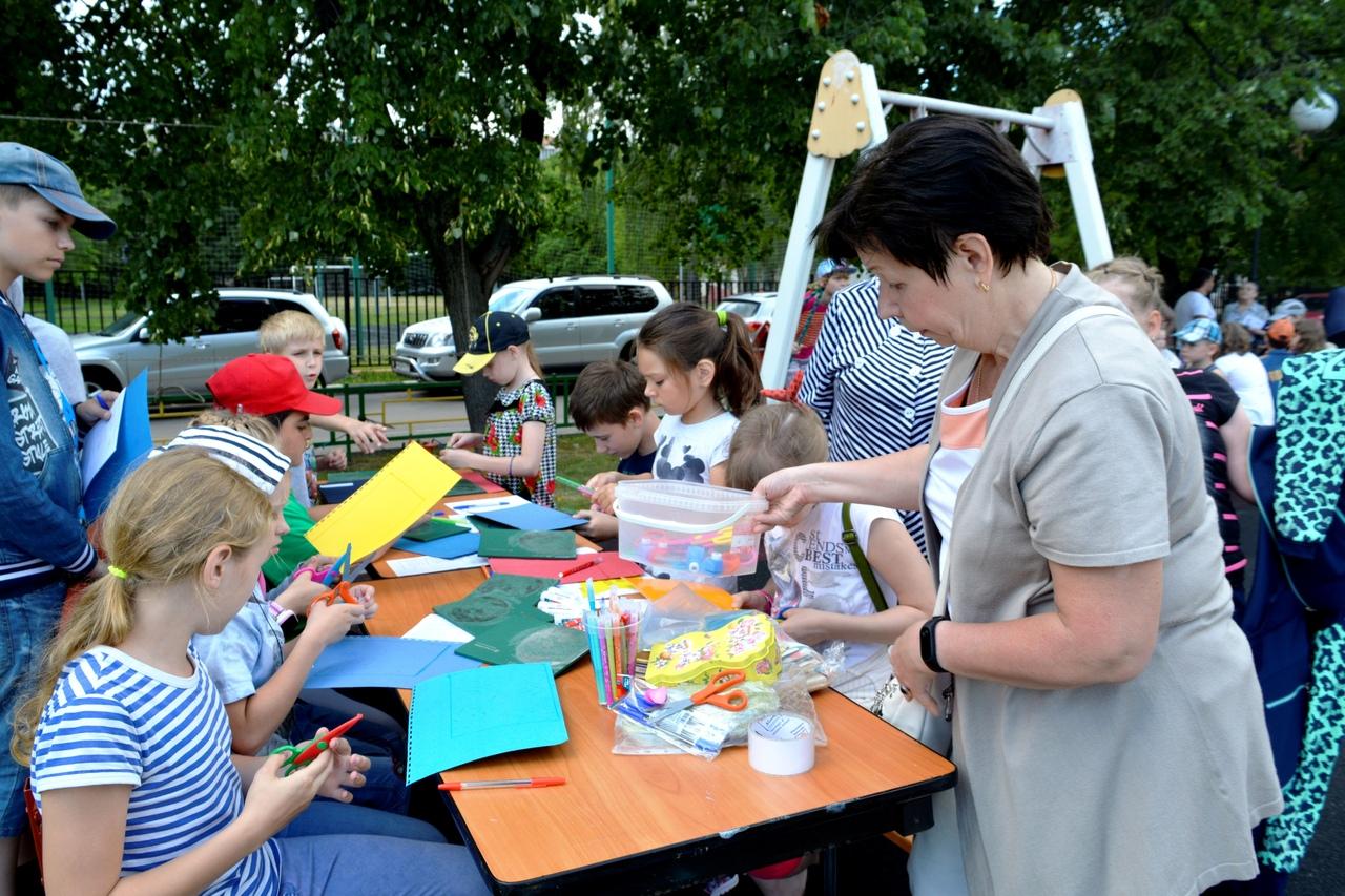 День семьи в районе Ивановское