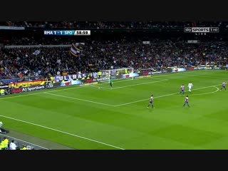 Cristiano ronaldo vs sporting gijon home (english commentary) - 11-12 hd 1080i by crixronnie