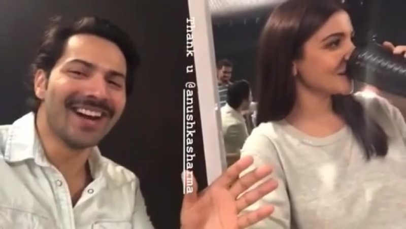 Anushka Sharma Varun Dhawan Instagram Sui Dhaaga Made in India 🇮🇳