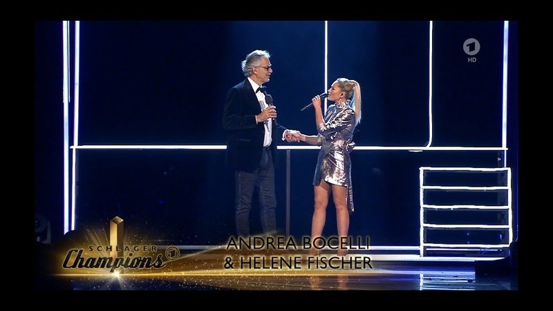 Andrea Bocelli and Helene Fischer - If Only live at 'Schlager Champions'