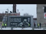 В посёлке Тельмана появилось граффити Юрию Никулину