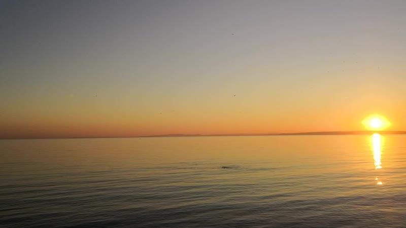 Sunset on the Costa Blanca - Coucher de soleil sur la Costa Blanca