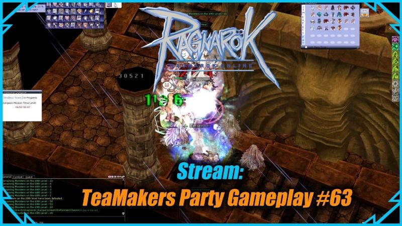 Стрим - Ragnarok online: TeaMakers Party Gameplay 63