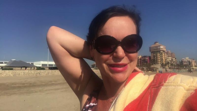ВЛОГ\На пляже\Обзор нового КУПАЛЬНИКА\О Похудении