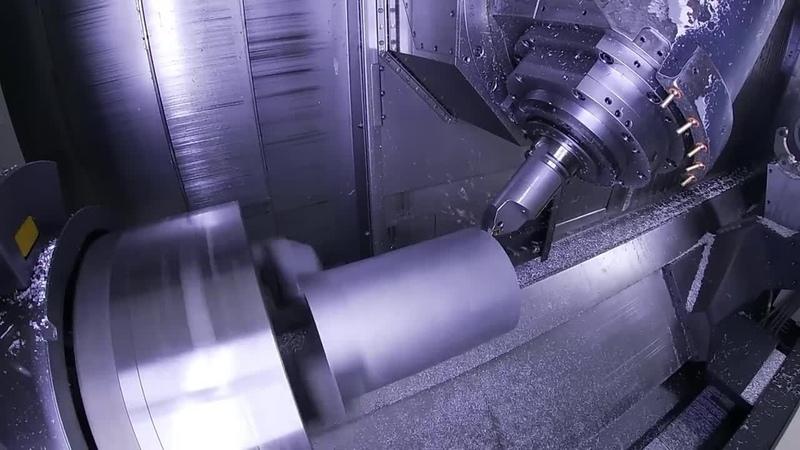 GibbsCAM. Обработка на станке DMG CTX 2000