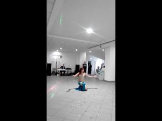 Восточный танец на стеклянных бокалах... Джавхара... Сызрань...