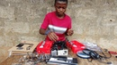 Prodigy from Sierra Leone Builds Battery