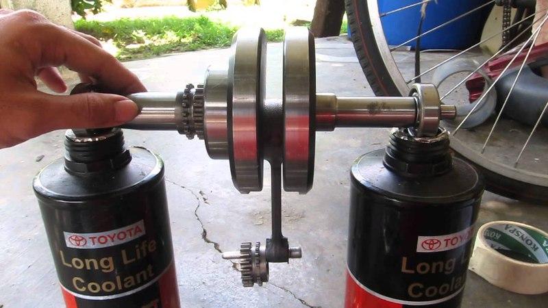 Yamaha T135 / 135LC Crankshaft Static Balancing v3
