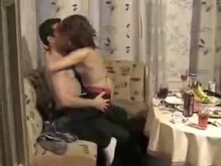 Самой сексуальной групповушка на квартире