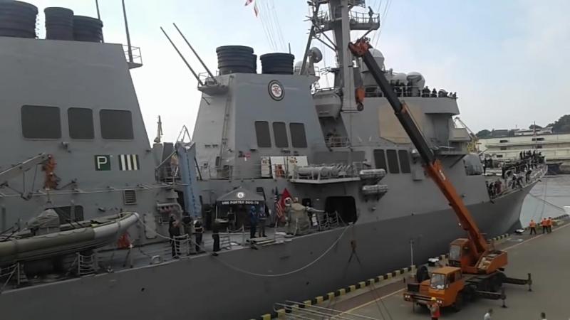 Эсминец USS Porter (DDG-78) ВМС США в Одессе