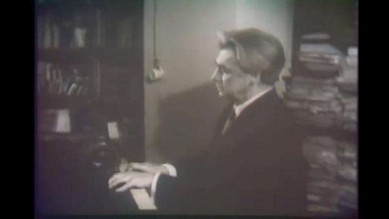 Генрих Нейгауз играет