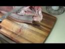Как разделать лосося или семгу на стейки. Разделка рыбы на уху