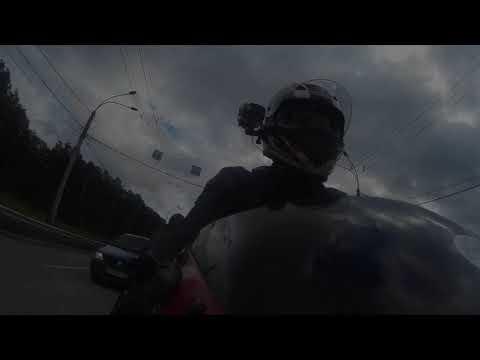 Drunk89Ninja - покатушки по Екатеринбургу под Ленинград (ZX-9R Ninja)