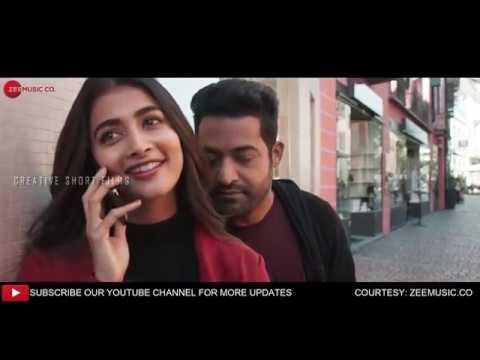 ANAGANAGANAGA HD video song from Aravinda sametha jr.NTR Trivikram Thamman (Edited version)