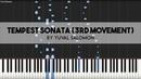 Beethoven   Piano Sonata No. 17 Tempest (3rd mvt) - Tutorial by Yuval Salomon