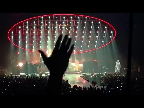 Freddy Mercury vocal cords - Queen and Adam Lambert live @ Sportpaleis Antwerp