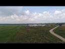 Вид на аэродром Ватулино с дрона