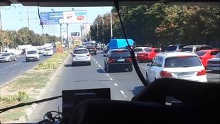 Как пропускают пожарных в Одессе #12/Ride along on Ukrainian fire truck