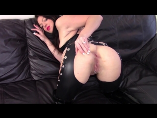 Evamarie88 - messy shit smear leather couch