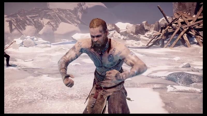 God of War 4 Финальный бой с Балдуром