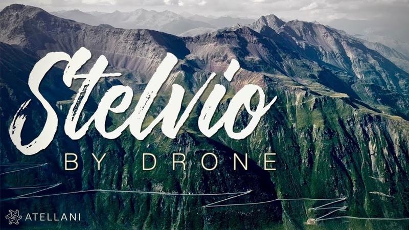 The Amazing Passo dello Stelvio by Drone | Stelvio Pass Series Ep. 007