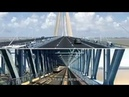 Hutong Railway Yangtze River Bridge Animation 沪通长江大桥施工动画