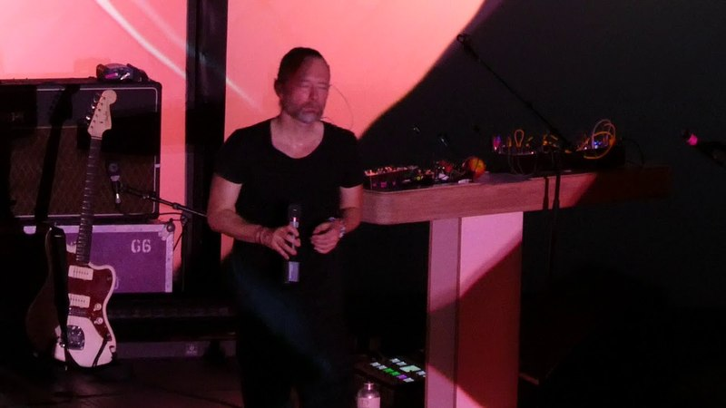 Thom Yorke - The Axe (live debut) / Atoms for Peace - Firenze 2018