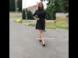 Милое платье с гороховым принтом?
