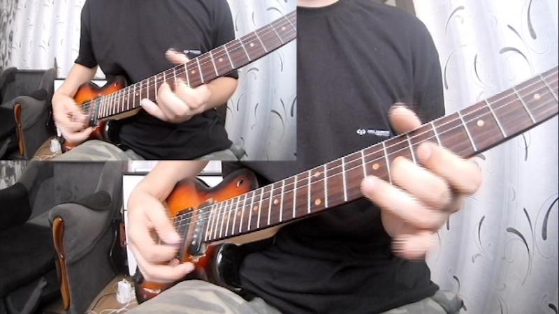 Для конкурса гитарного видео от Scales и Ивана Сыромятникова DE Intro