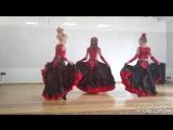 Испанский танец Танцевальная студия АРАБЕСКИ (рук.Буймова Олеся)