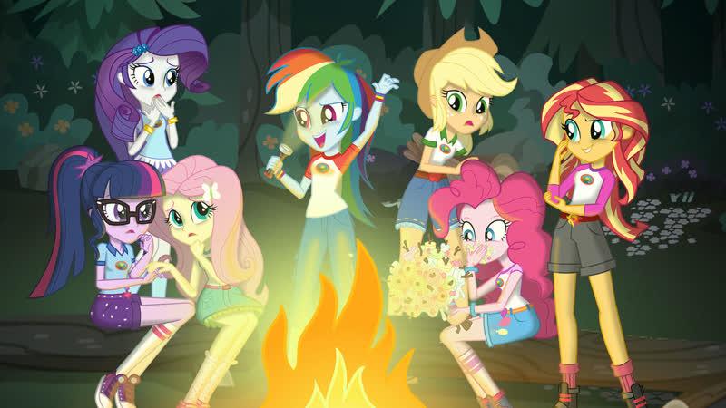 My Little Pony: Equestria Girls. Мой маленький пони: Девочки из Эквестрии