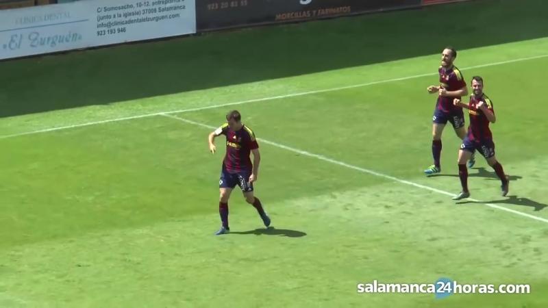CF Salmantino UDS - UD Побленсе, 2-2, Терсера 2017-2018, 1/4 нечемпионского плей-офф, 1 матч