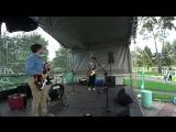 Зеленоград. Дмитрий Кутафин - ударные, Сергей Козлов - гитара, Павел Руденко - бас гитара.