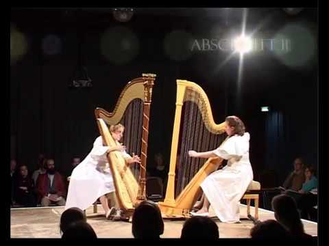 Stockhausen - Freude (Joy) for two harps