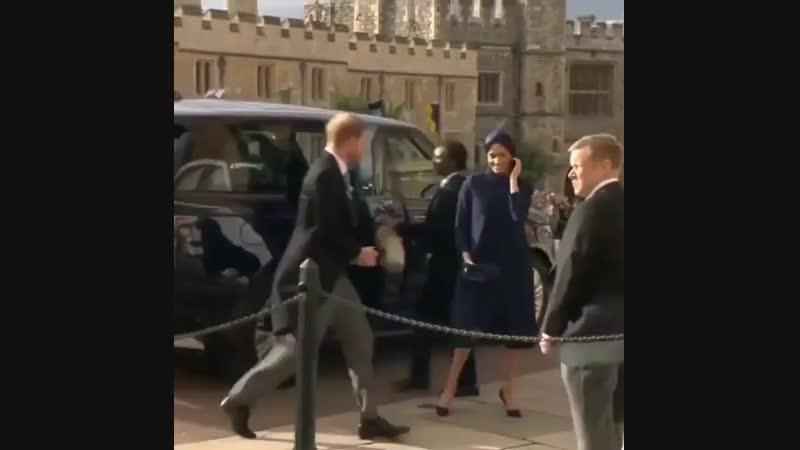 Royal wedding: Princess Eugenie marries Jack Brooksbank ГАРРИ И МЕГАН ПРИБЫВАЮТ НА СВАДЬБУ