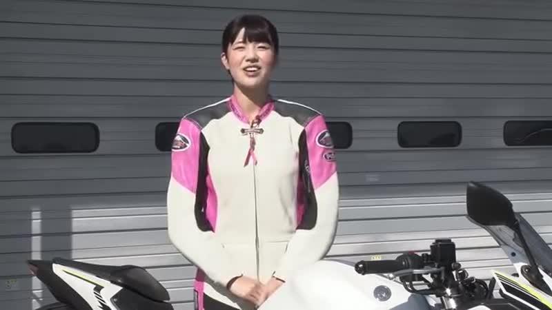 【最高速】どこまで伸びる? ヤマハYZF-R25で梅本まどかが最高速チャレンジ!