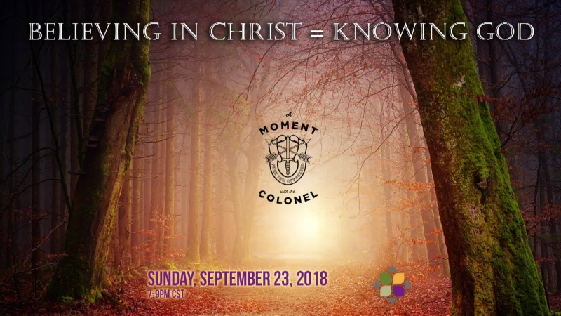 Believing in Christ Equals Knowing God