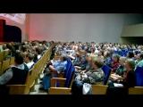 Юлия Славянская поет с залом. День Победы, 9 мая 2018 г. Ижевск, филармония.