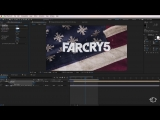 Far Cry 5 Smoke Logo Reveal - Adobe After Effects Tutorial