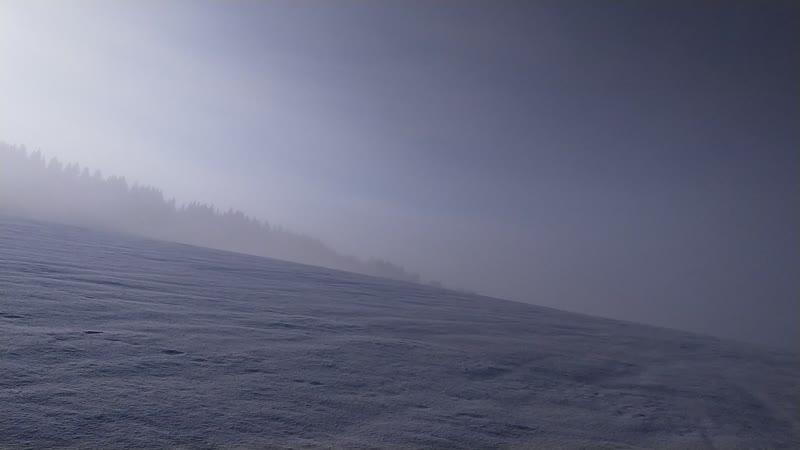 Сказочные просторы в утренней изморози