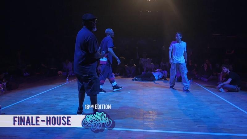 Battle Session 2 Style 2018II7 to smoke II Raza(Ghôst Flow) vs TonyMcGregor( Dance Fusion )