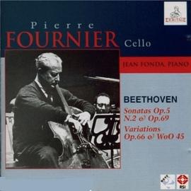 Ludwig Van Beethoven альбом Pierre Fournier: Cello