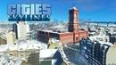 Cities Skylines - Красная мэрия в центре нового района и парк для лыжного кроса! 13