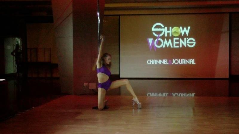 Анастасия Тимошенко - Catwalk Dance Fest IX[pole dance, aerial] 12.05.18.