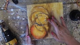 Wax on Wednesdays Encaustic Painting Demos Texture Journey #1
