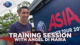 TRAINING SESSION with Angel Di Maria