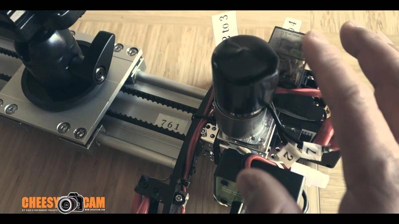How To Build DIY Auto Reverse Polarity Motorized Video Slider Update