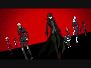 Persona 5 The Animation Stars and Ours - тизер