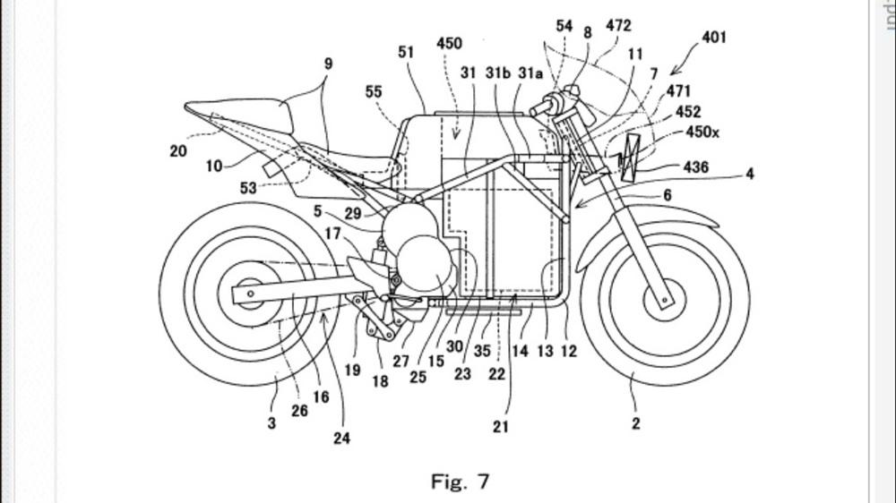 Компания Kawasaki работает над электроциклом?!