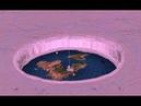 Плоская Земля, что находится за ледяной стеной в Антарктике